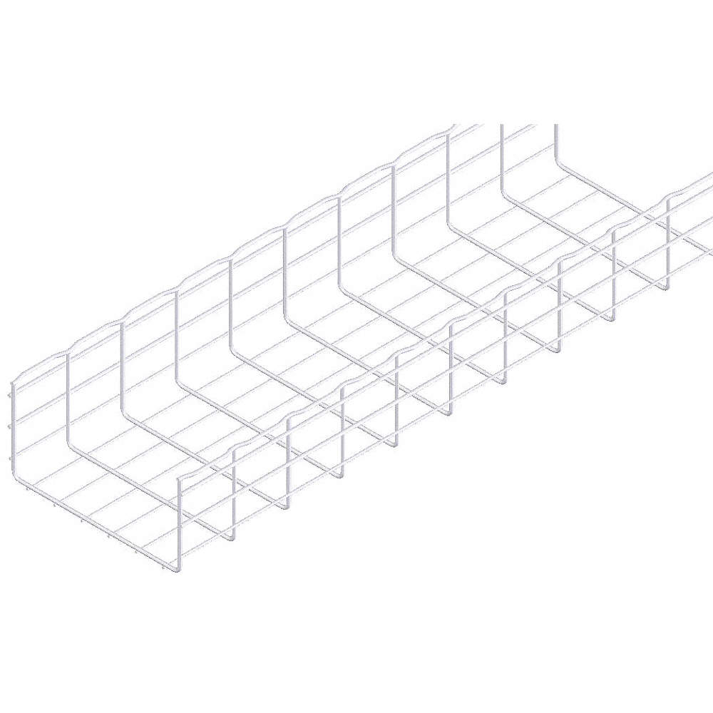 CABLOFIL 10 ft. Steel Wire Mesh Cable Tray, 74.94 lb. per 6 ft ...