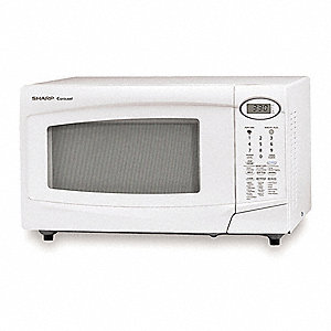 White Microwave Oven, 1.00 cu. ft.