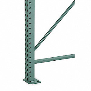 Seismic Upright Frame,3Wx42Dx144H,Green