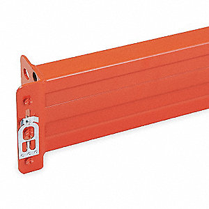 Steel Step Beam with 3020 lb. Load Capacity, Poppy Orange