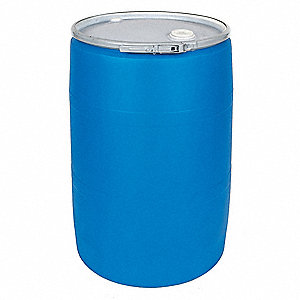Transport Drum,Open Head,55 gal.,Blue