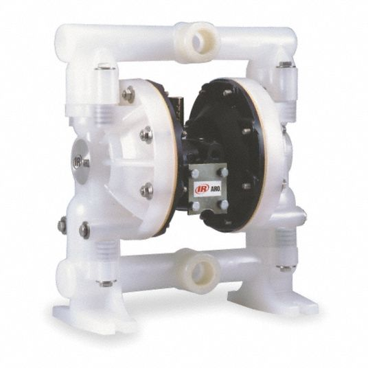 Aro Double Diaphragm Pump 47 Gpm Max Flow Nitrile Single Manifold Connection 1 In 4gy44 6661aj 322 C Grainger