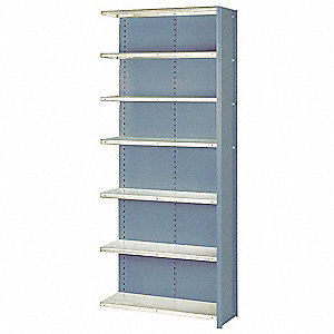 Shelving,Closed,Add-On,Steel,84""