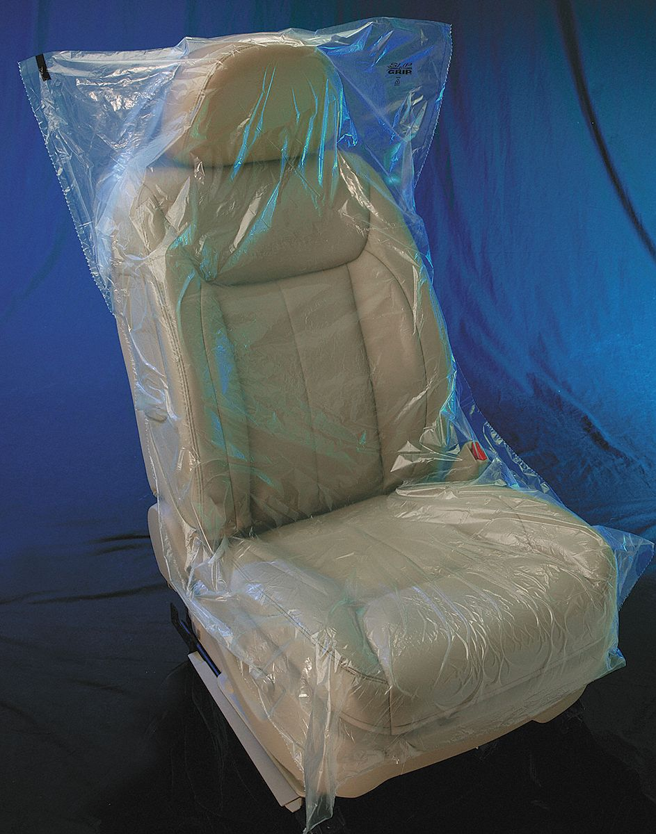 Plastic Seat Covers >> Slip N Grip 32 X 56 Plastic Seat Cover Ifb Boxed Clear Pk250