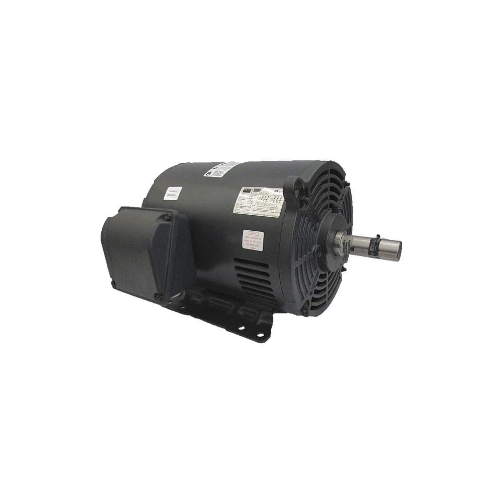 15 HP General Purpose Motor,3-Phase,1770 Nameplate RPM,Voltage  230/460,Frame 254/6T