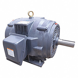 25 HP General Purpose Motor,3-Phase,1175 Nameplate RPM,Voltage 208-230/460,Frame 324T