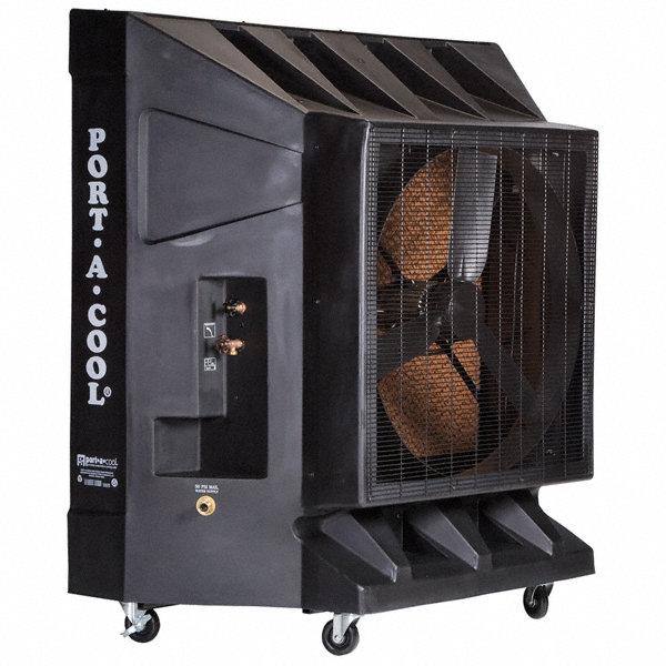 Portacool 10 000 cfm direct drive portable evaporative - Mastercool exterior cooler cover ...