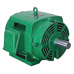30 HP General Purpose Motor,3-Phase,1770 Nameplate RPM,Voltage 575,Frame 286T