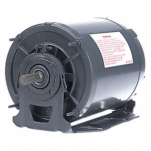 1/3 HP Direct Drive Blower Motor, Split-Phase, 1725 Nameplate RPM, 115/208-230 Voltage, Frame 48Y