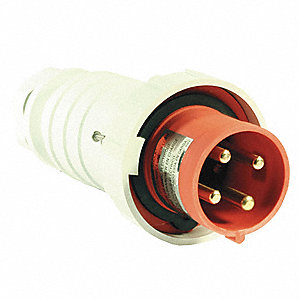 20 Amp, 3-Phase Nylon Watertight Pin and Sleeve Plug, Red  Phase Power Plug Wiring on 3 phase diagram, 3 phase twist lock plugs, 3 phase motor, 30 amp twist lock wiring, 3 phase electrical plug, 3 wire 240v wiring, 3 phase plug parts, 3 phase plug socket, 3 phase electrical outlet, 3 phase plugs and outlets, 3 phase cord plug, 3 phase power, 3 phase electrical panel,