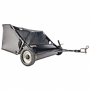 TOW LAWN SWEEPER,42 IN. WIDE,12 CU.