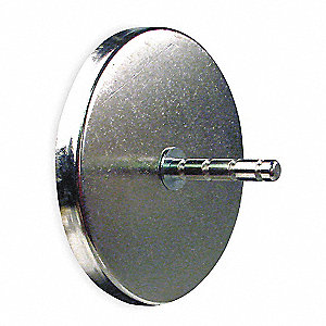 Magnetic Mount Hook,2-1/16 In