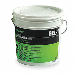 Wire Lubricant   Greenlee Chain Cable Wire Lubricant 1 Gal Pail Water Chemical