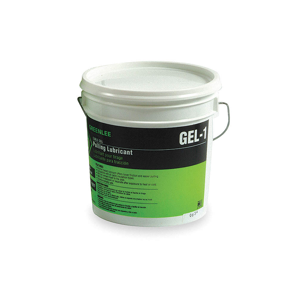 GREENLEE Chain, Cable, Wire Lubricant, 1 gal. Pail, Water Chemical ...
