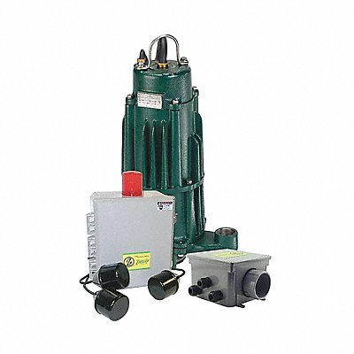 4HEW9 - Grinder Package Simplex 2 HP 230V