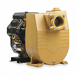 13 HP Cast Iron 390cc Engine Driven Semi-Trash Pump, 6.9 qt. Tank Capacity