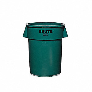 BRUTE 44 gal. Green, LLDPE Utility Container