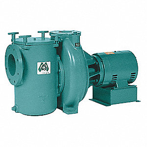 15 HP Pool Pump, No, 48.3-42/21 Amps