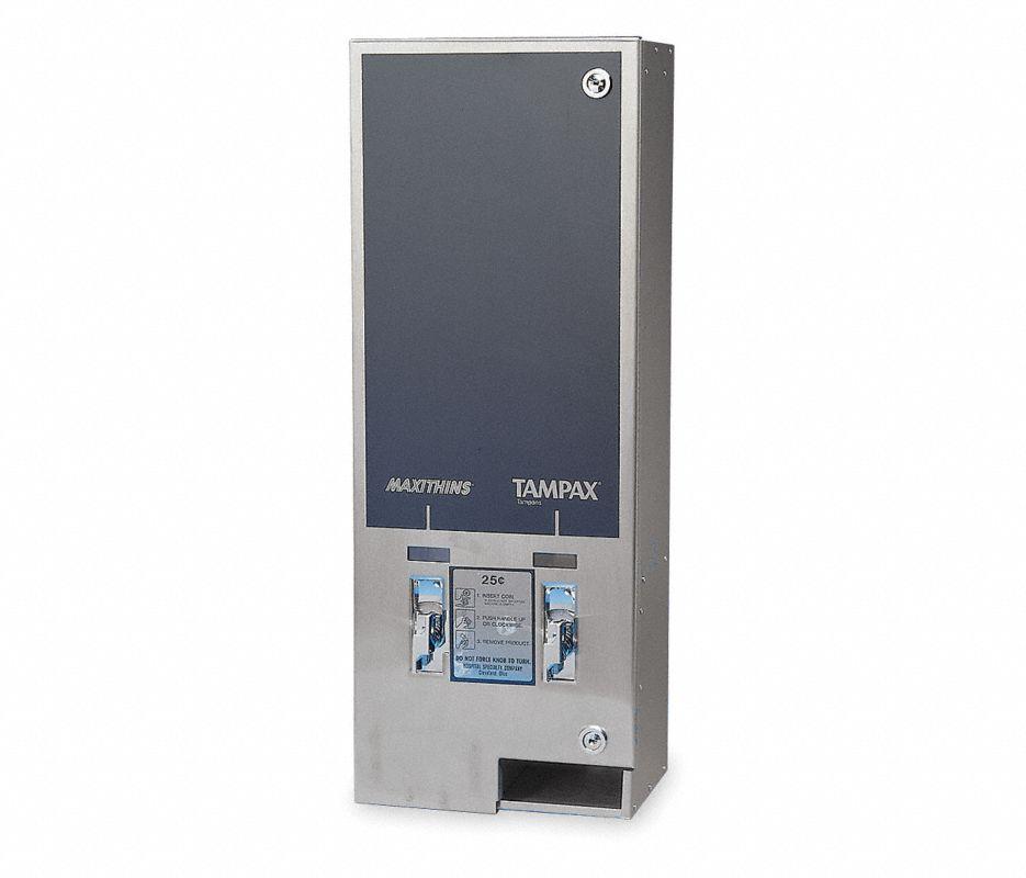 Dispenser,Wall Mount,10x6-3/4x26-1/4