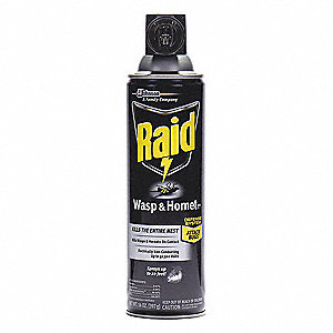 Wasp and Hornet Killer,  Aerosol,  14 oz.,  Outdoor Only,  7.00% DEET Concentration