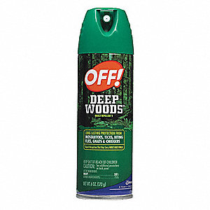 Insect Repellent,Aerosol,6 oz. Weight