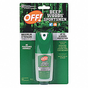 Insect Repellent,Pump Spray,1 oz.