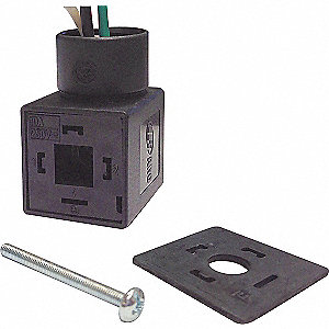 Solenoid Coil Connector with Separate Wires Lead Type
