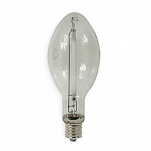 750 Watts High Pressure Sodium HID Lamp, ED37, Mogul Screw (E39), 110,000 Lumens, 2100K Bulb Color T