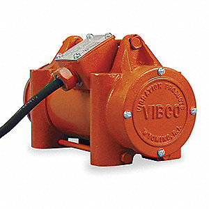 Electric Vibrator, 0.30A, 575VAC, 3-Phase