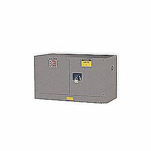 Flammable Safety Cabinet,17 Gal.,Gray