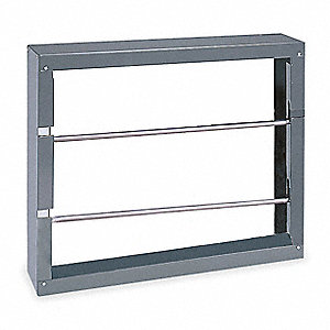"Rod Storage Rack, 21-1/2"" H, 26-1/8"" W, 6""D"
