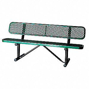 Outdoor Bench,72 in. L x 24 in. x 31 in.