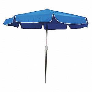 Etonnant Outdoor Umbrella, Round, Blue