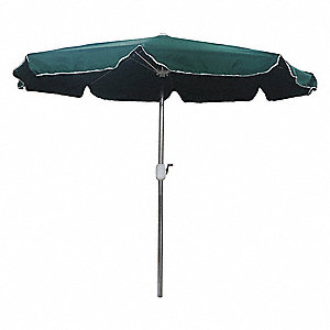Merveilleux Outdoor Umbrella, Round, Green