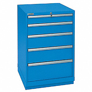 Modular Drawer Cabinet,41-1/2 In. H