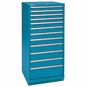 Modular Drawer Cabinet,59-3/8 In. H