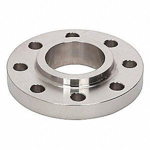 "Forged 316 Stainless Steel Lap Joint Flange, Lap Joint, 1-1/2"" Pipe Size - Pipe Fitting"