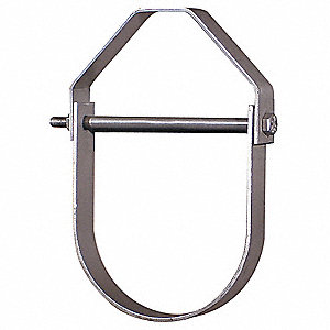 Light Duty, Adjustable Clevis Hanger, Carbon Steel