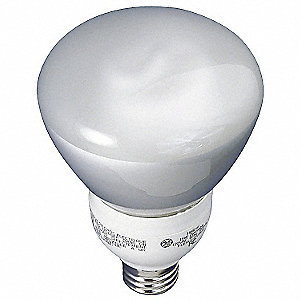 15.0 Watts  Screw-In CFL, R30, Medium Screw (E26), 550 Lumens 2700K Bulb Color Temp.