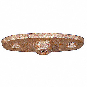 Ceiling Or Wall Rod Hanger Plate, Copper Plated Malleable