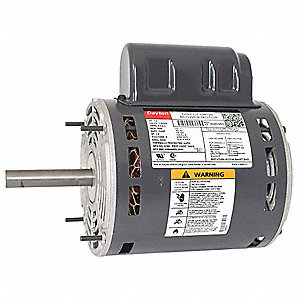 1/2 HP Direct Drive Blower Motor, Permanent Split Capacitor, 1650 Nameplate RPM, 115/230 Voltage