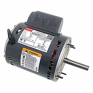 1/3 HP Direct Drive Blower Motor, Permanent Split Capacitor, 850 Nameplate RPM, 115 Voltage