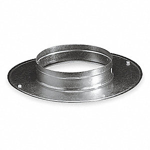 Snap On Collar,Round,Galvanized Steel