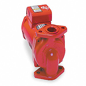 1/12 HP Cast Iron Maintenance Free Hot Water Circulator Pump