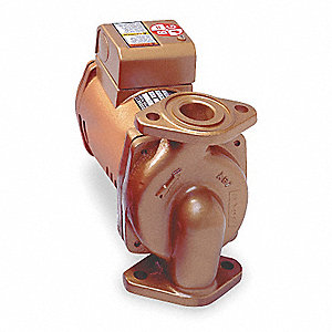 1/6 HP Low Lead Bronze Maintenance Free Hot Water Circulator Pump