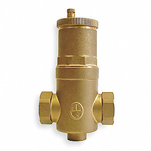 "150 psi Enhanced Air Separator, Bronze, 1-1/4"" Sweat Inlet"