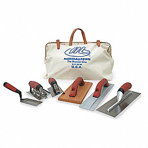 Concrete Tool Kit,7 PC