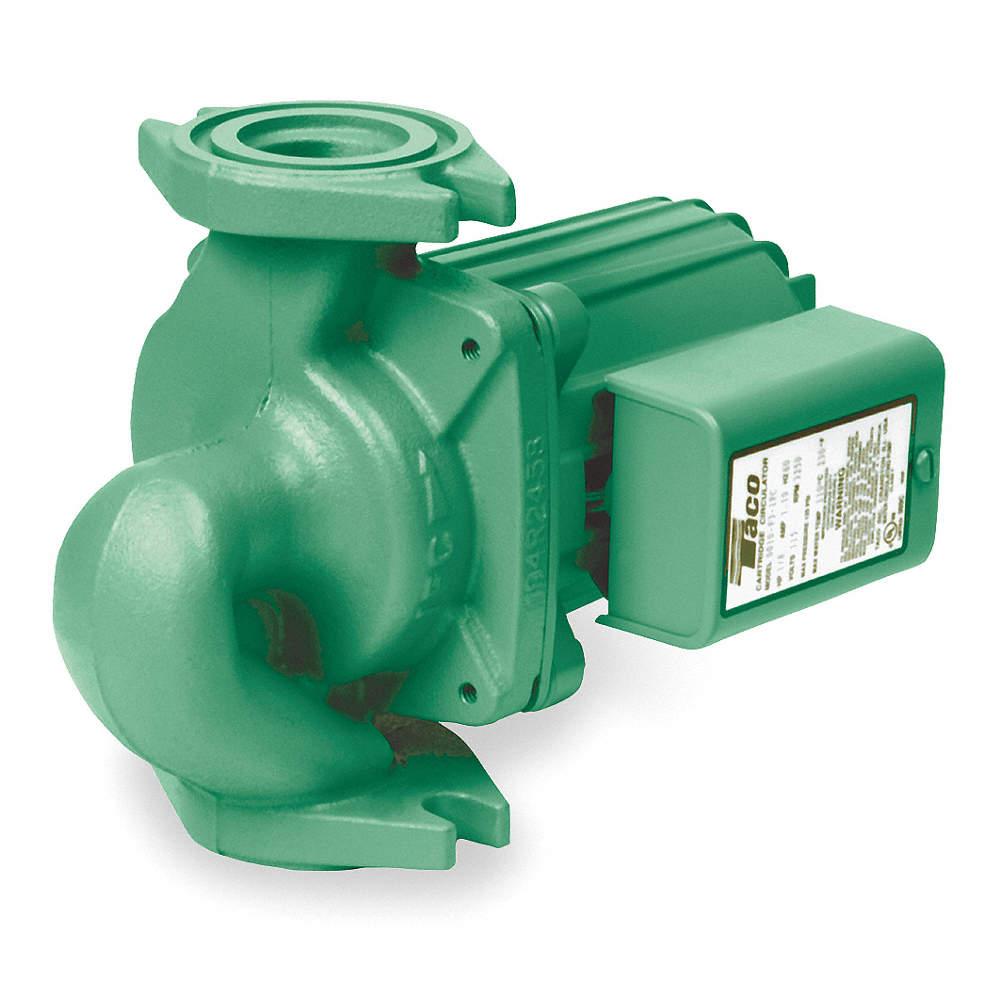 Hydronic Circulating Pump,1/8HP,Flanged 0010-F3-1IFC