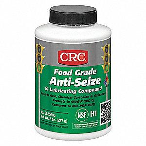 Crc Aluminum Food Grade Anti Seize 65f To 1800f 8 Oz White