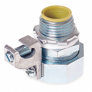Insulated Conector,1/2 In.,Nylon,Straght